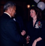 With Mayor Dinkens